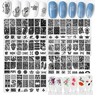 Best butterfly stamping nail art Reviews