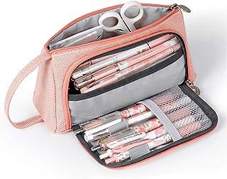 AidShunN Multifuncional Estuche de lápices de Gran Capacidad Bolsa de Lona Premium Bolsa de lápiz Organizador de papelería...