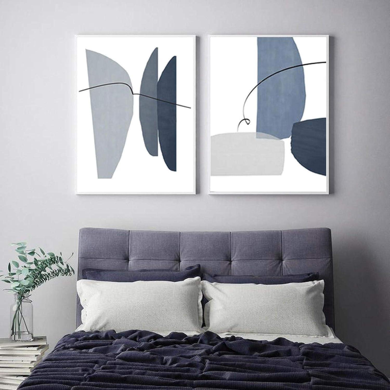 Modern Living Room Home Trust Decor 5 ☆ popular Canvas Geometric Abstract Print Gr