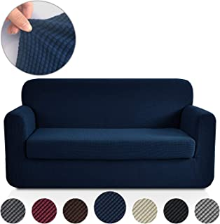 Amazon.com: Blue - Sofa Slipcovers / Slipcovers: Home & Kitchen