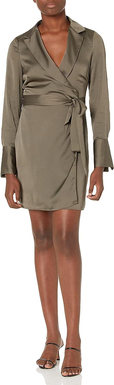 GUESS Ranking TOP9 Women's Essential Long Wrap Nashville-Davidson Mall Sleeve Eden Dress