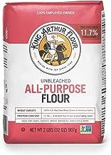 King Arthur Flour All Purpose Flour, 2 pound bag, 12 Count