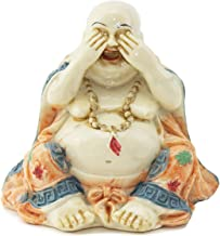 Feng Shui See No Evil Happy Face Laughing Buddha Figurine Home Decor Statue Gift / Birthday Gift / house warming gift We P...