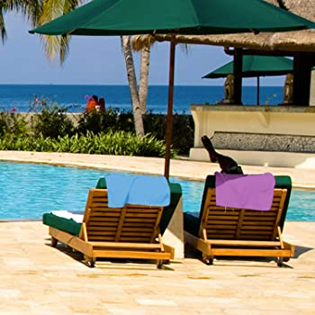 Sfee Microfiber Sport Travel Towel Set -(S M L XL)-Quick Dry Absorbent Compact Lightweight Soft Beach Yoga Bath Pool ...