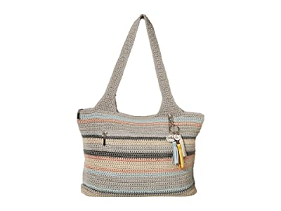 The Sak Casual Classics Large Tote (Coastal Stripe) Tote Handbags