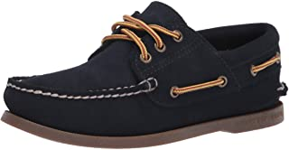 Sperry Top-Sider A/O 3-Eye Suede Boot Lace, Chaussure Bateau Homme
