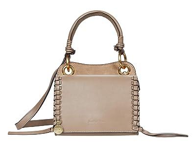 See by Chloe Tilda Mini Crossbody Cross Suede (Motty Grey) Cross Body Handbags