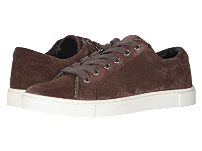 FRYE AND CO. Sindy Moto Low (Aubergine Suede) Women