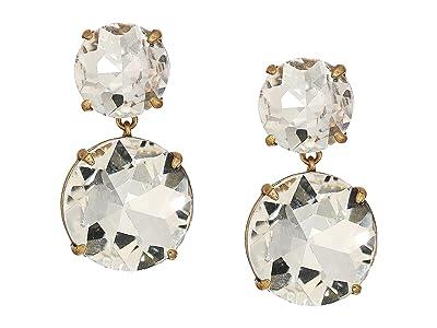 J.Crew Gawber Drop Earrings (Crystal) Earring