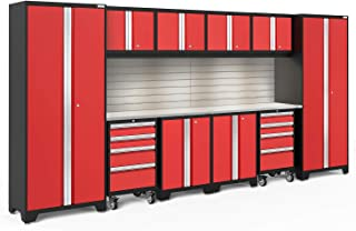 NewAge Products Bold 3.0 Red 12 Piece Set, Garage Cabinets, 56374