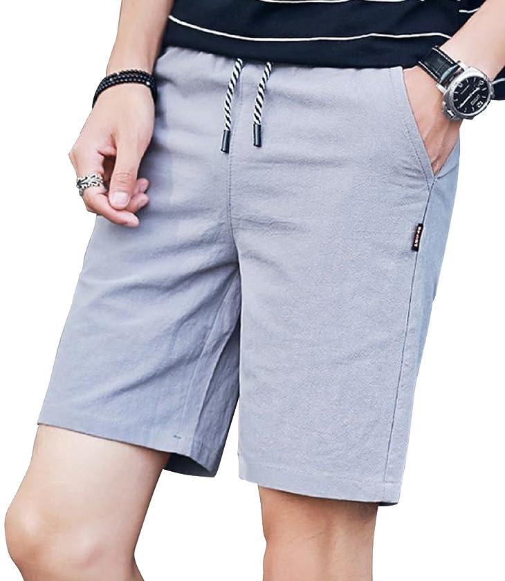 積分予知シットコム[ライズオンフリーク] メンズ ハーフパンツ 短パン ズボン 半ズボン 無地 柄 春 夏 大きい 小さい サイズ GB-49