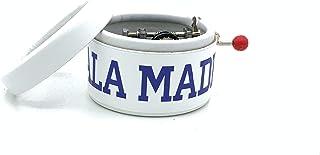 Piccolo carillon manovella Forza Madrid. Il regalo per un vero tifoso del Real Madrid.