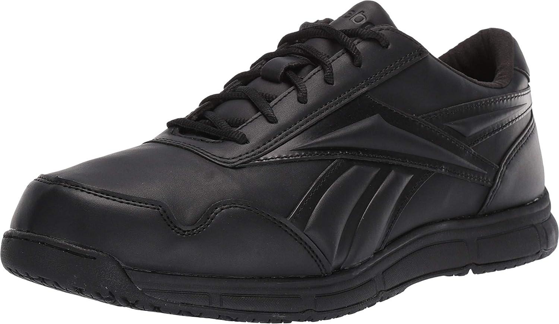 Reebok Work Men's Ranking TOP3 Jorie Lt Slip-Resistant Bla Soft Shoe Toe Max 71% OFF