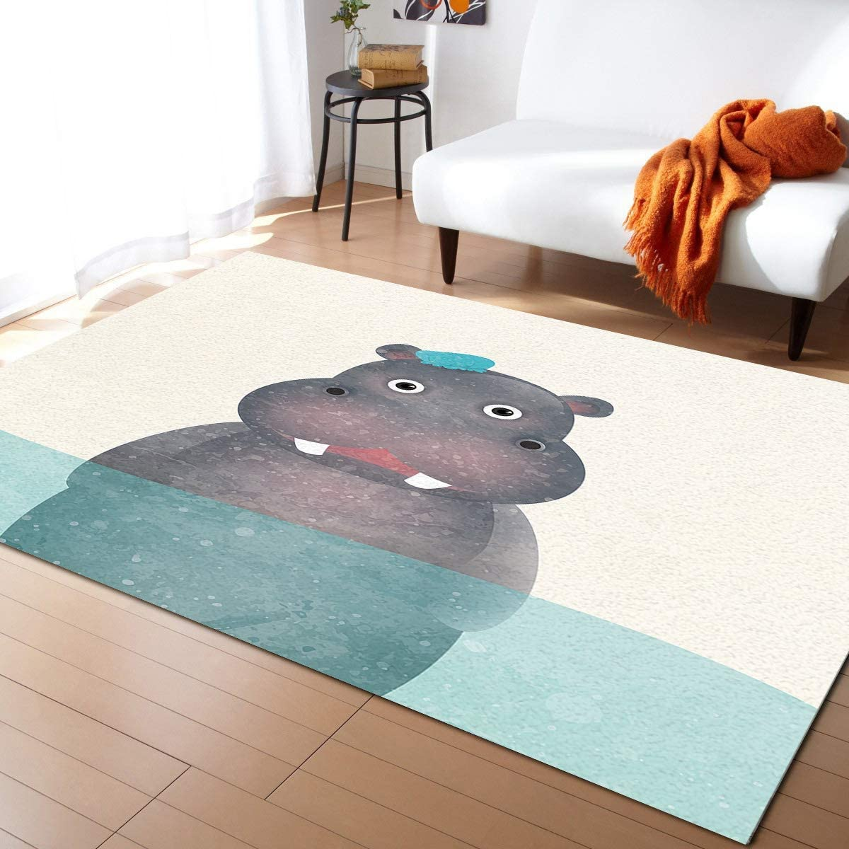 ARTSHOWING Animal Theme Area New popularity Rug 2'7