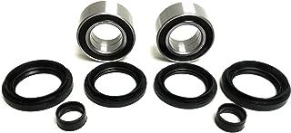 ATV Parts Connection Pair of Front Wheel Bearing & Seal Kits for Honda Rubicon 500, Foreman 500, Rincon 680 4x4 ATV