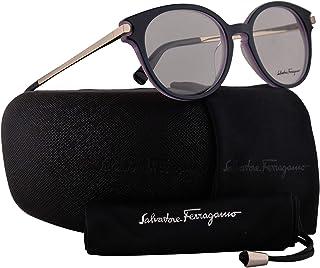 35577ac7fd Salvatore Ferragamo SF2764 Eyeglasses 51-18-140 Petroleum Violet w Demo  Clear Lens
