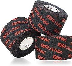 BRANK SPORTS Vingerriem voor gewichtheffen of crossfit ter voorkoming van wrijving en ter bescherming van de huid. 9 m lan...