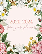 2020-2024 Five Year Planner: Monthly Logbook and Journal, 60 Months Calendar (5 Year Monthly Agenda 2020, 2021, 2022, 2023, 2024 Large Size 8.5x11)