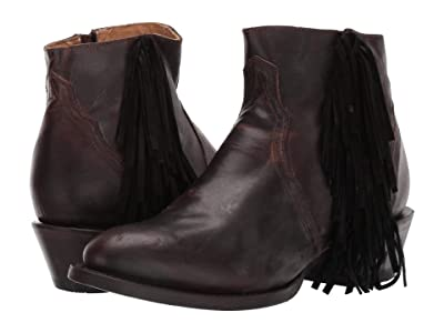 Roper Coolidge (Burnished Brown Leather) Cowboy Boots
