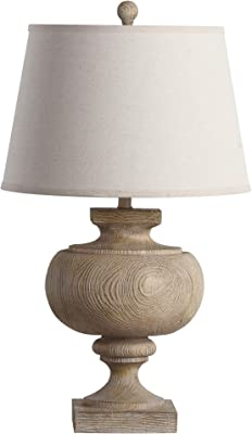 Safavieh TBL4063A Lighting Collection Prescott 31-Inch Table Lamp, Wood Finish