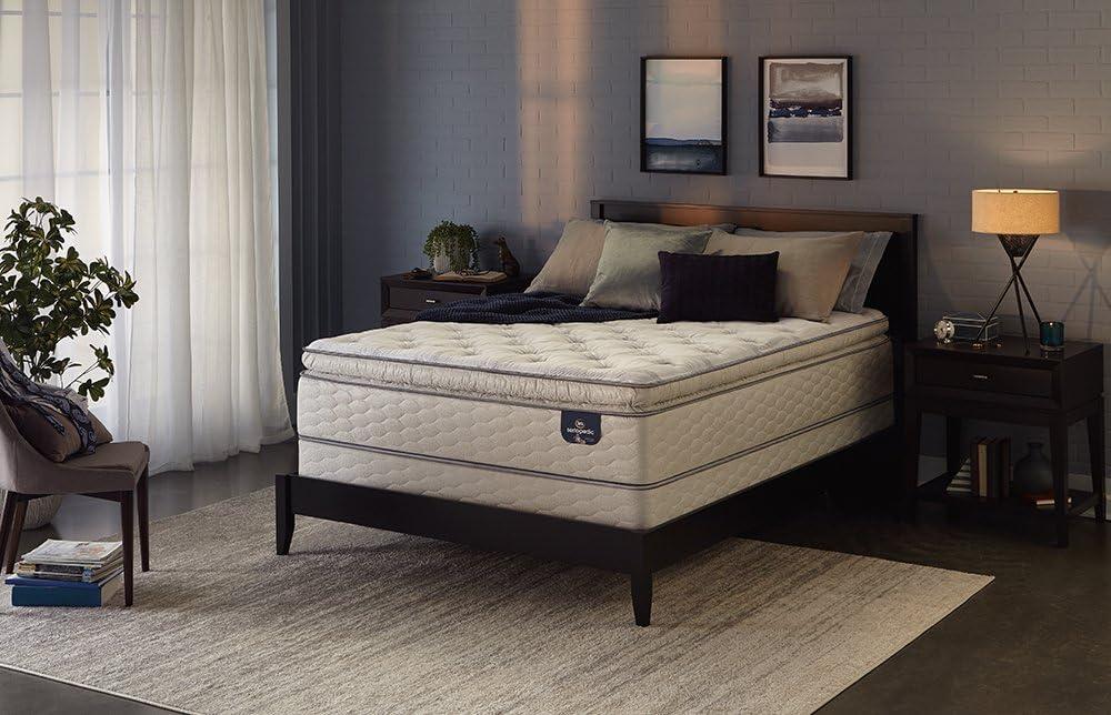 Sertapedic Super Pillowtop 300 Innerspring Max 89% OFF Queen Mattress supreme
