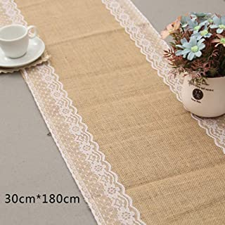 Professional Simple And Beautiful European Style Table Cloth Lace Burlap Runner, Vintage Tablecloth Cotton - Table Runners, Antique Church Altar, Vintage Linens Table Cloth, Cotton Linen Napkins