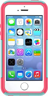 OtterBox Commuter Series Case for iPhone SE, iPhone 5S, iPhone 5 - Non-Retail Packaging - Aqua Blue/Blaze Pink