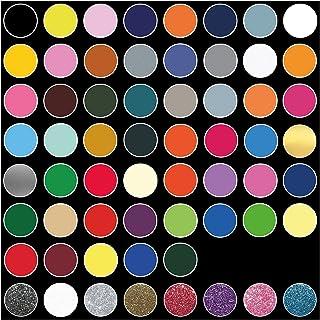 Ultraflex S textielfolie voor plotters, 61 kleuren, mediafototterfolie, mat op stoffen, kleding, T-shirt, folie, flexfoli...