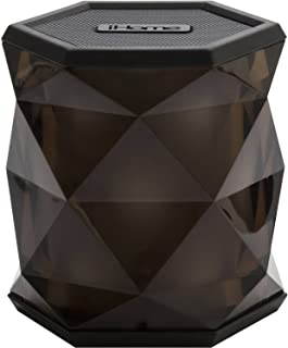 iHome iBT67 Wireless Bluetooth Speaker with 8 Hour Rechargeable Battery and Speakerphone (Black)