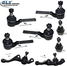 DLZ 8 Pcs Front Suspension Kit-2 Lower 2 Upper Ball Joint 2 Inner 2 Outer Tie Rod End Compatible with 1970-1974 Dodge Challenger Plymouth Barracuda Cuda 1970-1972 Dodge Charger 1970-1976 Dodge Dart