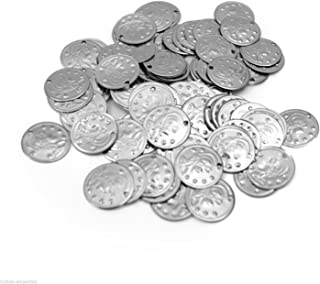 100 Belly Dance Costume Coins Costuming DIY Supplies S [Apparel]