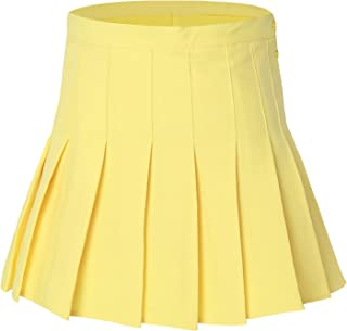 Best yellow tennis skirts Reviews