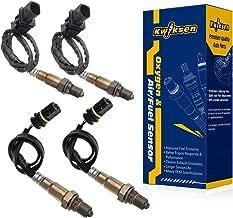 Kwiksen 4pcs Air Fuel Ratio Oxygen Sensor 1 Sensor 2 Bank 1 Bank 2 Compatible with Mercedes-Benz E550 Exc.4Matic V8-5.5L 2007-2009 Upstream and Downstream