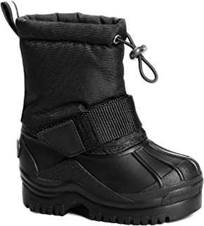 Girls & Boys Boots Mid-Calf Warm Winter Snow Boot(Toddler/Little Kid)