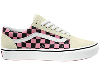 Vans Comfycush Old Skool ((Mixed Media) White/Multi) Athletic Shoes