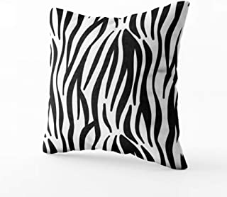 red zebra print cushions