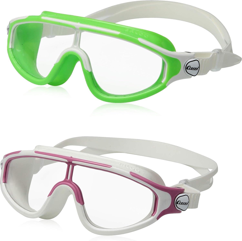 Cressi Kids Long Beach Mall Baloo Swim Max 44% OFF Goggles 2 Pack