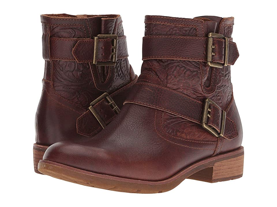 Sofft Brinson (Whiskey Wild Steer/Daisy Emboss Wild Steer) Women's Pull-on Boots