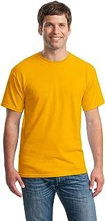 Gildan mens Heavy Cotton 5.3 oz. T-Shirt(G500)-GOLD-S-10PK