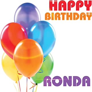 Best happy birthday ronda Reviews
