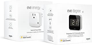 Smart Air Care Kit: Eve Degree and Eve Energy, no bridge necessary, Bluetooth Low Energy (Apple HomeKit - Smart Home)