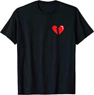 Broken Heart T Shirt Heartbreak
