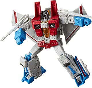 Transformers Toys Generations War for Cybertron: Earthrise Voyager WFC-E9 Starscream Action Figure - Kids Ages 8 and Up, 7-inch