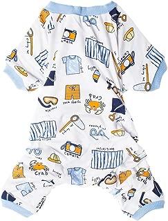 LovinPet Small Dog Clothes, Cotton Small Dog Pajamas Adorable Shirt Pet Clothes