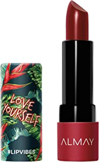 Almay Lip Vibes, Love Yourself, 0.14 Ounce, cream lipstick