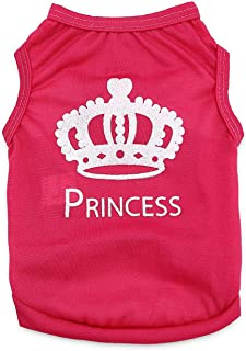 Dress Clothes PRINCESS Shirt Vest Costume for small Dog Puppy Cat Fancy Paws - Size M