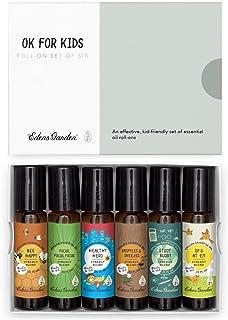"Edens Garden""OK For Kids"" Roll-On 6 Set, Best 100% Pure Essential Oil Synergy Blend Aromatherapy Starter Kit (Child Safe ..."
