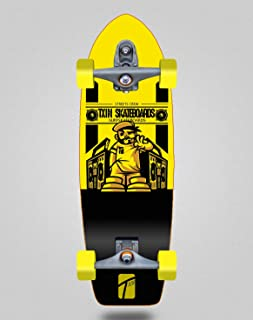 TXIN - Surfskate with T12 Surf Skate Trucks - Boom Box 29...
