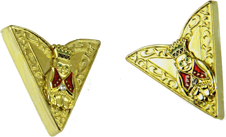 4031764 Set of Jester Collar Tips Stays ROJ Royal Order Jesters Billiken Formal Dress