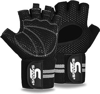 Rękawice do podnoszenia ciężarów siłownia trening fitness opaska na nadgarstek wsparcie mężczyźni kobiety rękawiczki bez p...